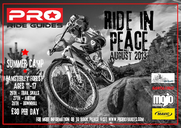 Pro ride guides summer camp